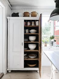 kitchen cupboard interior storage a beautiful renovated swedish home from 1800 the style files