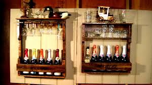 Liquor Display Shelves by Wood Wine Liquor Home Mini Bar Pallet Rack Shelf