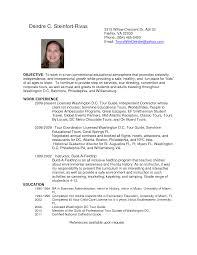 concierge resume sample tour guide resume resume badak tour guide resume sample