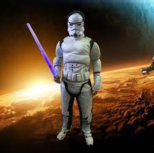 Anakin Skywalker Halloween Costume Stars Wars Darth Vader Anakin Skywalker Muscle White Soldiers