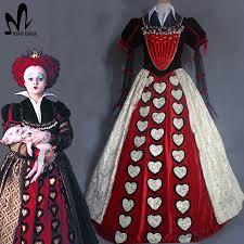 Red Queen Halloween Costume Buy Wholesale Red Queen Halloween Costume China Red