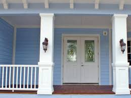 how to install a porch railing hgtv