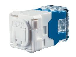 clipsal 30rj45sma5 modular socket category 5e rj45 yellow