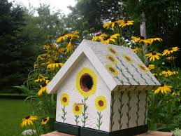 how to choose and use birdhouses in gardens