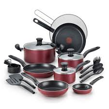 t fal black friday deal on amazon kohl u0027s cardholders 20 pc t fal nonstick aluminum cookware set
