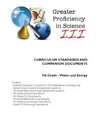 7th grade waves and energy greenhouse effect curriculum