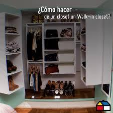 Diy Home Center by Cómo Hacer De Un Clóset Un Walk In Clóset Hum Hágaloustedmismo
