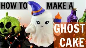 how to make a ghost cake youtube