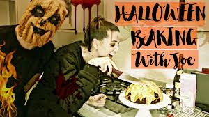 Halloween Cake Recipes Uk Halloween Baking With Joe Zoella Youtube