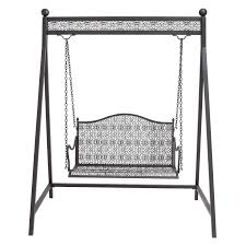 Hammock Swing With Stand Exterior Wrought Iron Porch Swings With A Frame Using Iron Seat