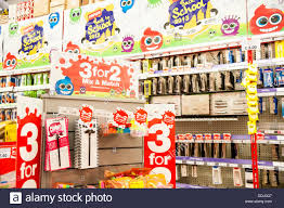 3 for 2 back to school stationery for sale in a staples store