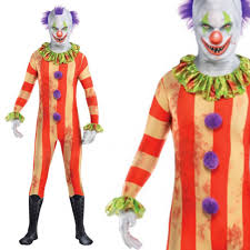 party city halloween clown costumes adults circus killer clown party suit fancy dress costume clown