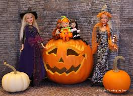 halloween barbie a day in the life of my dolls november 2016