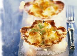 cuisiner coquilles st jacques coquilles jacques recette noel gourmand