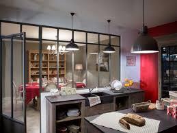 verriere entre cuisine et salle à manger aménagement intérieur 10 verrières pour structurer intérieur