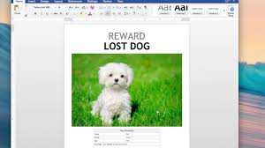 lost dog flyer template word yourweek ffd4e2eca25e