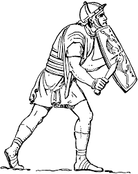 picture of a roman soldier free download clip art free clip