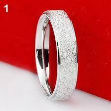 bluelans wedding band ring stainless steel matte ring bluelans wedding band ring stainless steel matte ring
