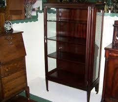 mahogany corner bookcase fine quality furniture