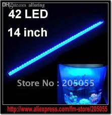 submersible led lights wholesale wholesale 38cm 14 inch aquarium 42 led light bar light strip led