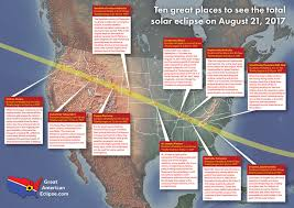 map of oregon to south carolina best places to view total solar eclipse of aug 21 2017