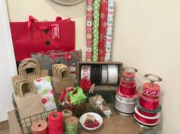 present wrapping station creative gift wrapping station hacks restoring order