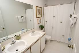 inspiring small bathroom color ideas with grey wall tiled as well