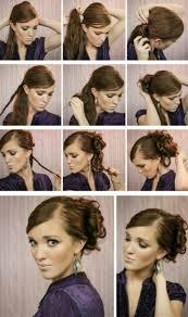 Einfache Hochsteckfrisurenen Selber Machen Kurze Haare by Einfache Hochsteckfrisur Selber Machen Asktoronto Info
