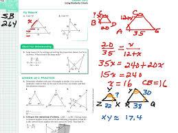 geometry lesson 18 2 math geometry similarity showme