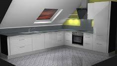 dachgeschoss k che küche unter dachschräge ähnliche projekte und ideen wie im bild