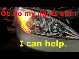 2004 toyota camry lights how to replace your high and low beam headlights on a 2004 toyota