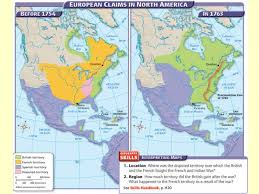 america map before and after and indian war indian war mercantilism colonists smuggled goods because