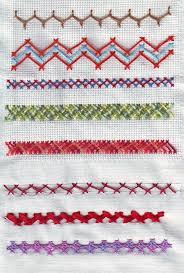 Fish Bone Stitch Embroidery Tutorials Needlecraft Tast 1 The Herringbone Stitch Ii