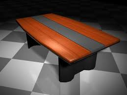 Modern Conference Table Design Modern Conference Table 3d Model 3d Studio 3ds Max Files Free
