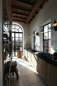 ideas for narrow kitchens parallel kitchen design galley bathroom remodel ideas long narrow