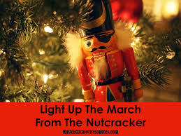 Nutcracker Christmas Lights Decorations by Light Up The March From The Nutcracker