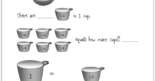 cup pint quart gallon worksheet relentlessly deceptively educational teaspoons tablespoons