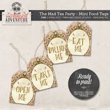 Mad Hatter Decorations Mad Tea Party Decorations Gold And Pink Party Decorations Mad