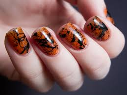 ideas for simple halloween manicures and nail art designs npm