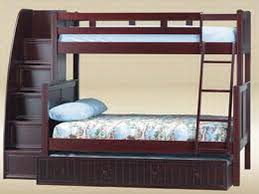 amazing bunk bed with staircase twin over full bunk bed with