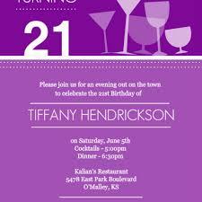 Official Invitation Card Sample 21st Birthday Invitations Dancemomsinfo Com