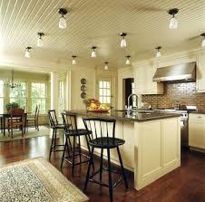 overhead kitchen lighting ideas overhead kitchen light fixtures a flat kitchen ceiling with