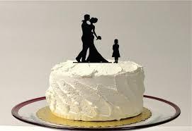 lighthouse cake topper family of 3 silhouette wedding cake topper groom child