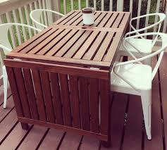 ikea outdoor dining table patio inspiration creating outdoor dining space