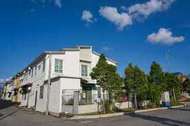 Reihenhaus Graphicstock Terrace House Under The Blue Skies Buzxgcjplol Jpg