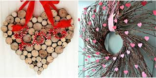 Pier 1 Valentines Day Decor by 25 Diy Valentine U0027s Day Wreaths Homemade Door Decorations For