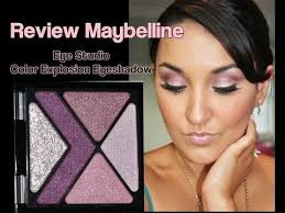 review maybelline eye studio color explosion