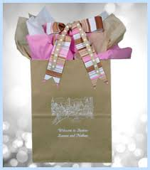 welcome bags for weddings customized wedding welcome bags favors you keep skyline collection
