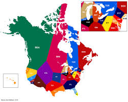 Canada And United States Map by Unveiling Bud Selig U0027s Post Annexation Plans For Canada And The
