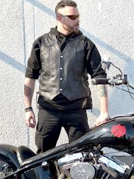 leather motorcycle vest higgs leathers buy all sold challenger men u0027s laced sides
